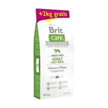 Brit Care Grain-free Adult Large Breed Salmon & Potato 12+2kg