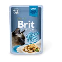 Brit Premium Cat Delicate Fillets in Gravy with Chicken