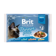 Brit Premium Cat Delicate Fillets in Gravy Dinner Plate