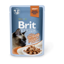 Brit Premium Cat Delicate Fillets in Gravy with Turkey