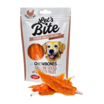 Let's Bite Chewbones - Calcium Sticks with Chicken Fillet