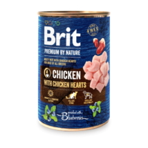 Brit Premium by Nature Chicken with Hearts