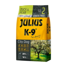 JULIUS K-9 Puppy & Junior City Dog - Duck & Pear
