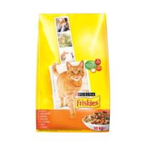 FRISKIES Csirkével és hozzáadott zöldségekkel száraz macskaeledel