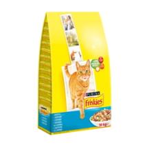 FRISKIES Lazaccal és hozzáadott zöldségekkel száraz macskaeledel