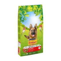 FRISKIES Active Marhával száraz kutyaeledel