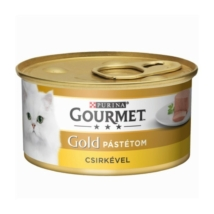 GOURMET GOLD Csirkével pástétom nedves macskaeledel