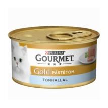 GOURMET GOLD Tonhallal pástétom nedves macskaeledel