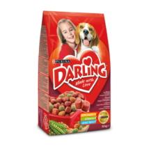 DARLING Marhával és hozzáadott, válogatott zöldségekkel száraz kutyaeledel