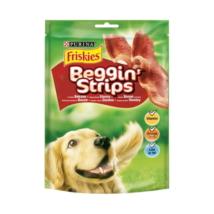 FRISKIES Beggin' Strips Bacon ízesítésű kutya jutalomfalat
