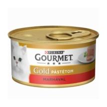 GOURMET GOLD Marhával pástétom nedves macskaeledel