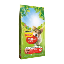 FRISKIES Mini Menu Marhával és zöldségekkel száraz kutyaeledel