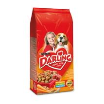 DARLING Szárnyassal és hozzáadott, válogatott zöldségekkel száraz kutyaeledel