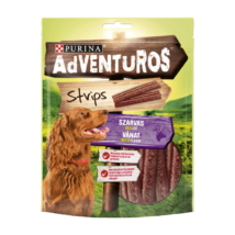 ADVENTUROS Strips Szarvas, vad ízű kutya jutalomfalat