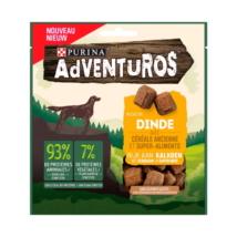 """ADVENTUROS Pulykában gazdag kutya jutalomfalat ősgabonával és """"superfood"""" összetevőkkel"""