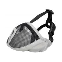 TRIXIE Textil hálós szájkosár rövid orrú kutyákra - Szürke