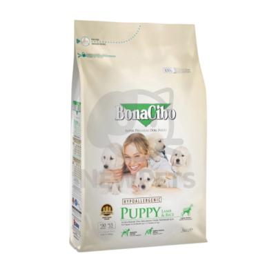 BonaCibo Puppy Lamb & Rice