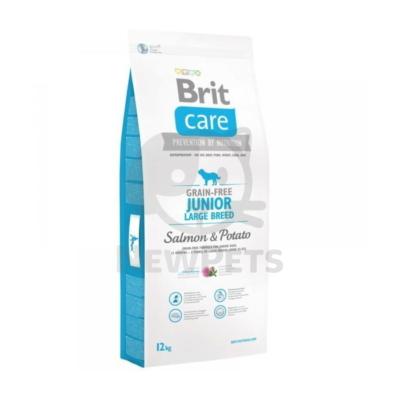 Brit Care Grain-free Junior Large Breed Salmon & Potato