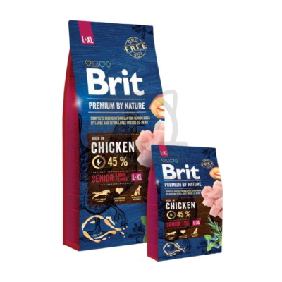 Brit Premium by Nature Senior Large / Extra Large