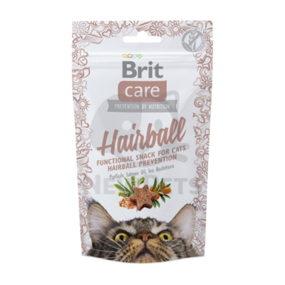 Brit Care Cat Snack Functional Hairball