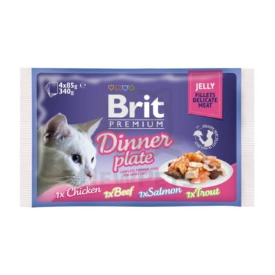 Brit Premium Cat Delicate Fillets in Jelly Dinner Plate