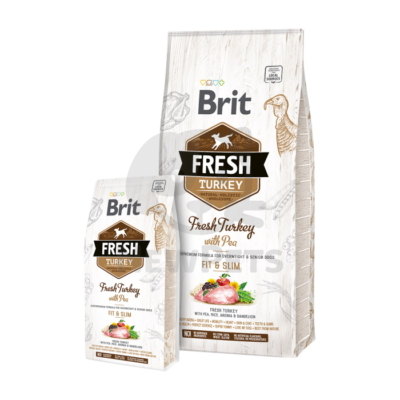 Brit Fresh Adult Fit & Slim Turkey with Pea