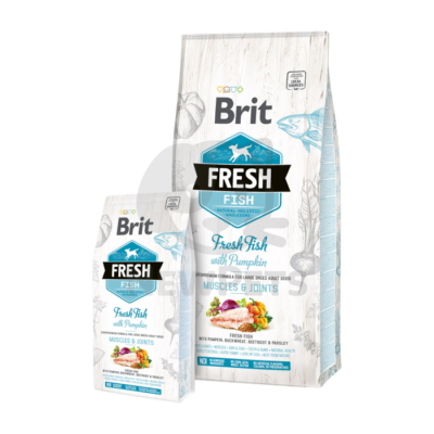 Brit Fresh Adult Large Muscles & Joints Fish with Pumpkin