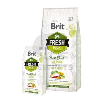Brit Fresh Adult Run & Work Duck with MIllet