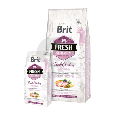 Brit Fresh Puppy Heathy Growth Chicken with Potato
