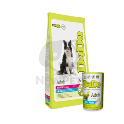 DADO  Adult Medium Breed Fish & Rice + Ajándék konzerv
