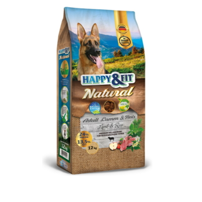 Happy&Fit Natural Adult Lamm&Reis