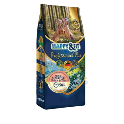 Happy&Fit Professional Plus Adult Sensitive Salmon&Rice