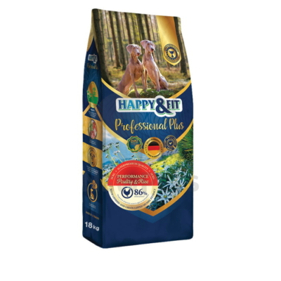 Happy&Fit Professional Plus Performance Poultry&Rice