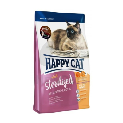 Happy Cat Adult Sterilised Atlantik-Lachs