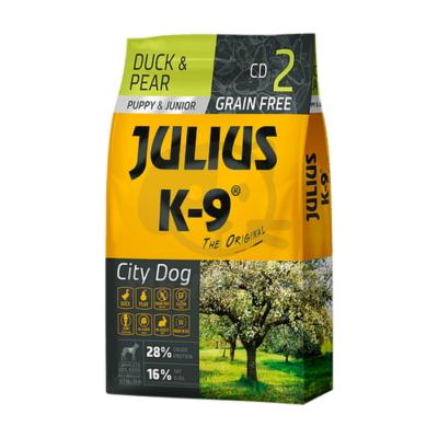 JULIUS K-9 Puppy & Junior City Dog - Duck & Pear
