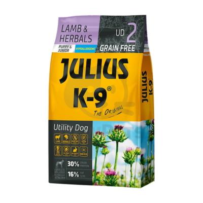 Julius-K9 Utility Dog Grain Free Puppy Junior Lamb & Herbals 10kg