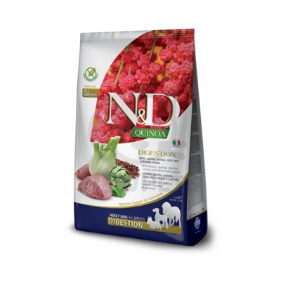 N&D Quinoa Digestion Lamb 7kg