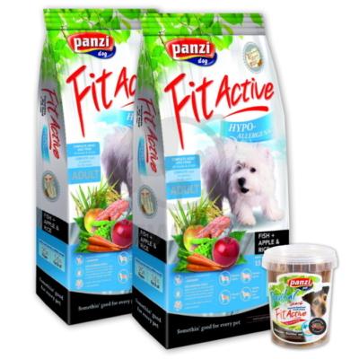 Panzi FitActive Hypoallergenic Fish, Apple & Rice - 2db + AJÁNDÉK