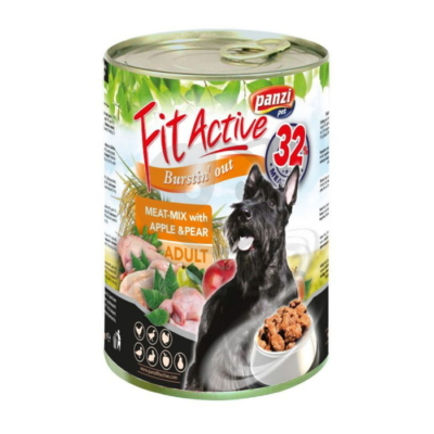 FitActive Adult Dog - Meat-Mix with Apple & Pear