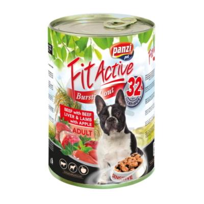 FitActive Adult Sensitive Dog - Marha-marhamáj-Bárány + Alma