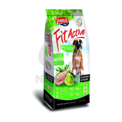 Panzi Fit Active Puppy Chicken & Pear