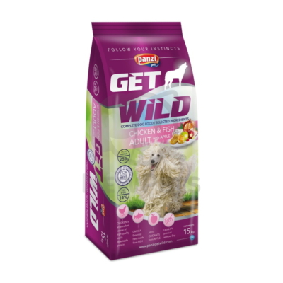 Panzi GetWild Adult Chicken & Fish