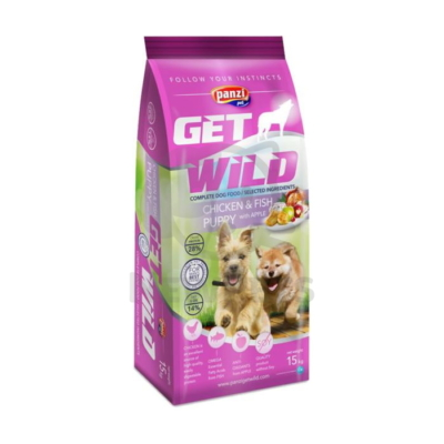 Panzi GetWild Puppy Chicken & Fish