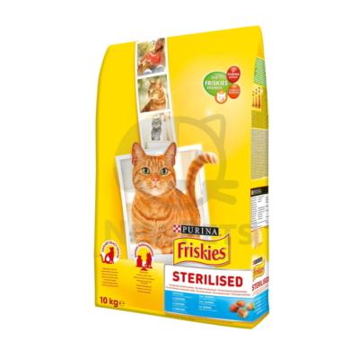 FRISKIES Steril Lazaccal és zöldségekkel száraz macskaeledel