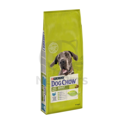 DOG CHOW Large Breed Adult Pulykával