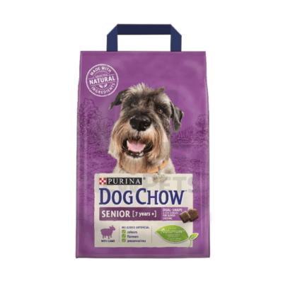 DOG CHOW Senior Báránnyal