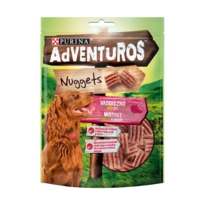 ADVENTUROS Nuggets Vaddisznó, vad ízű kutya jutalomfalat