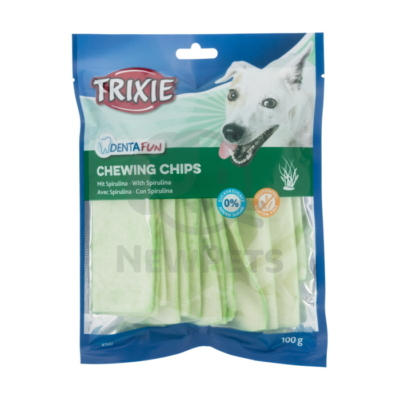 TRIXIE Denta Fun Spirulina rágó chips